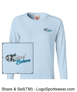 Comfort Colors Pigment-Dyed Ladies Long Sleeve T-shirt Design Zoom